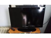 """samsung 32"""" lcd tv with remote £70"""