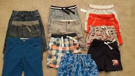BUNDLE OF BOYS SHORTS AND T-SHIRTS (2~3 years)