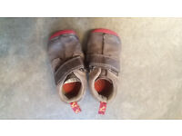 Boys clarks shoes size infant 3 width F