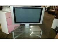 "Panasonic 37"" TV With Stand"