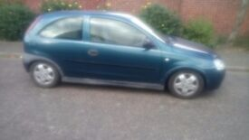 Vauxhall corsa 1.2 3 door