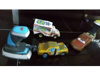 Disney store cars 3. Crashing toys powerful and fun