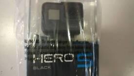 GoPro Hero 5 BLACK edition, new