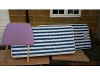 Silent Night Single Bed with mattress for Sale.