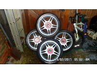 TSW Alloy Wheels & tyres