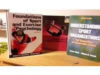 Sports science textbooks