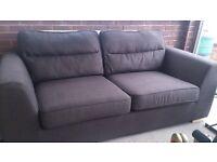 3 and 2 Seater Fabric Sofa