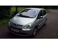 Citreon Xsara Piccasso 1.6 Desire, 44000 Genuine Low Miles, MOT oct.2017