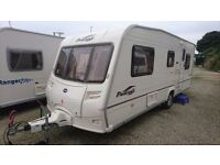 2006 bailey pageant provence - 5 berth - fixed bed