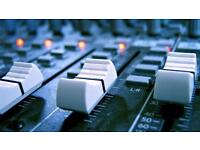 Qualified Sound Engineer Available (Short Notice OK!)