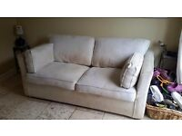 Free sofa bed. Very comfortable. Collection only