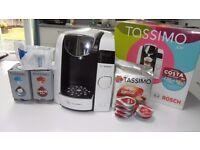 Tassimo Coffee Machine TAS4504GB Bundle - As New!