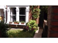 Pretty 2 bed Highgate garden flat for/ South Bank/ Victoria/Central London