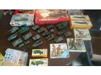 Large job lot of mixed army toys