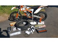 2013 KTM FREERIDE 350 Enduro Road Legal 60hrs 1100 miles only!, one of the cleanest you'll find...