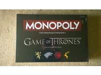 Game Of Thrones Monopoly collectors edition (mint condition)