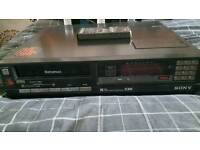 Sony C30 Betamax unit and films