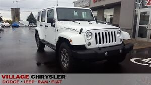 2016 Jeep WRANGLER UNLIMITED DUAL TOPS NAVI LEATHER HEATED SEATS