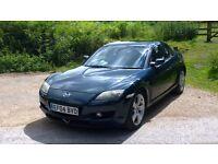 2004 mazda rx8 231ps ( new mot )
