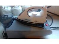 for sale as new bosch steam iron