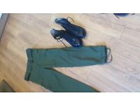 Army Combat pants and Boots