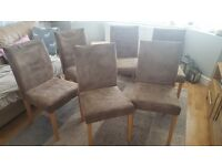 6 Dining chairs ideal upcycle project