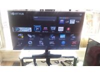 "Samsung 46"" 4K Wifi Smart 3D Freeview LED TV £270"