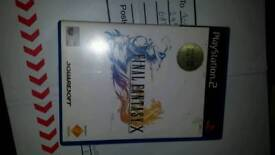 Final fantasy x ps2 game