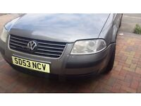 Excellent condition 2003 VW Passat Tdi. Great Runner. Clutch and flywheel done.