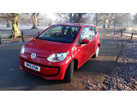 Volkswagen UP! 1.0 Move Up 3dr, Red Manual, 9000 miles