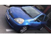Toyota Yaris 1.0 2003 12 Months mot Full Service history BARGAIN ONLY £795