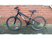 Hood V4 bike. For ages 8 to 11 approx. 24 inch wheels. Good condition ready to ride