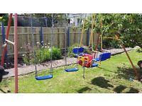 Kettler childrens swing set