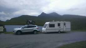 Swap my caravan for transit size van