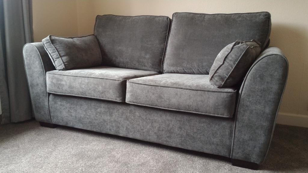 Tesco grey sofa bed for Sofa bed tesco
