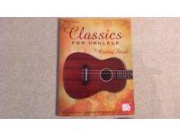 Ukulele book: Classics for Ukulele by Ondrej Sarek. Finger style ukulele