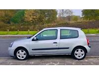 Renault Clio Dynamique 1.1, 79000 MILES, Long MOT, Very Very Clean