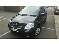 2005(55 REG)TOYOTA YARIS 1.0L PETROL MANUAL .LOW MILEAGE ONLY 60 K