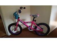 Lovely girls bike for sale