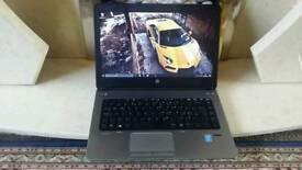 HP ProBook 4th Gen i3 laptop, 4GB DDR3 RAM, 500GB HD, HD LED Wide Screen, Win 10 Pro