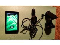 Garmin Nuvi 3710 GPS SatNav touchscreen with car accessories RRP £80
