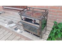 Taylors parafin boat cooker with oven