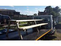 Massive 3 meter (12-14 seat) pub style picnic bench