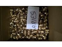 Brand new brass nipples 1/2' New price