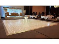 White RGB Dance floor (LED) for hire
