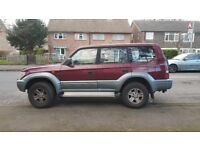 AUTOMAIC,7 SEATS,DIESEL TOYOTA LAD CRUISER 4X4