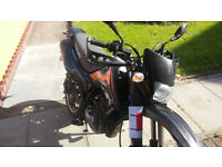 swap 61 plate suzuki dr125 super motard for road bike ie hyosung, honda, v twin 125