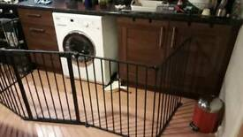 Child safety gate. Fire guard