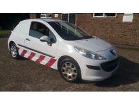 Peugeot 207 DT 8V Van 1.4 diesel white 1 company owner