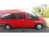 Ford Transit minibus 9 seats